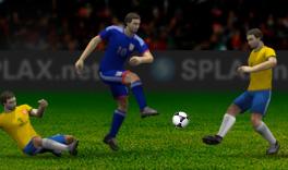 プレイング サッカー