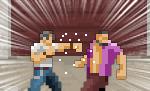 マルチデバイス・ベルトスクロールアクションゲーム